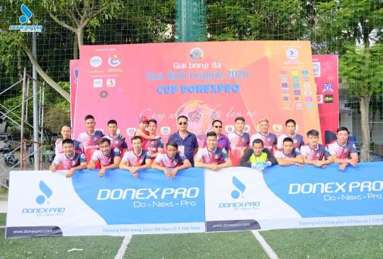 Khai mạc giải bóng đá Hòa Bình League 2020 - Cup Donexpro